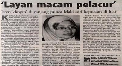"""Rasulullah Tokoh Seks Suci Islam""""- 'Kelab Taat Suami' Sekali ..."""