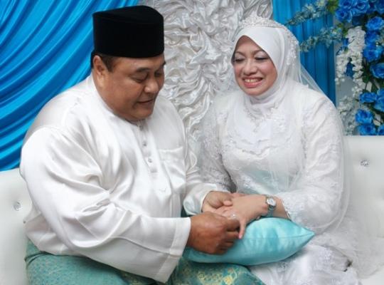 Gambar Pernikahan (Perkahwinan) Malek Noor