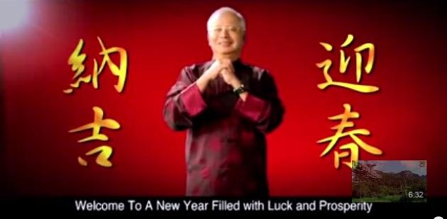 Najib Tahun Baru Cina