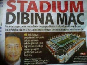 stadium dibina mac